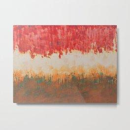 Encaustic Abstract: 1 Metal Print