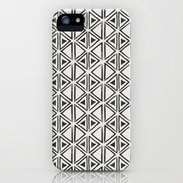 Block Print Diamond iPhone Case
