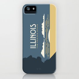 Illinois - Redesigning The States Series iPhone Case