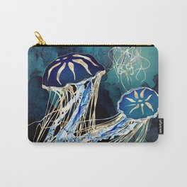 Metallic Jellyfish III Carry-All Pouch