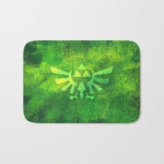 Legend Of Zelda Triforce Bath Mat