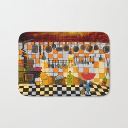 Ratatouille's Kitchen Bath Mat