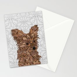 Cute Yorkie Stationery Cards