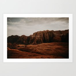 Utah Desert Art Print
