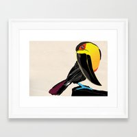coco Framed Art Prints featuring Coco by Nicholas Darby