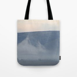 mist in yakima valley Tote Bag