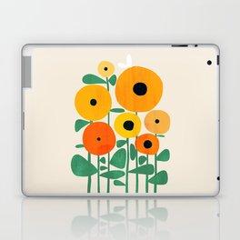 Sunflower and Bee Laptop & iPad Skin