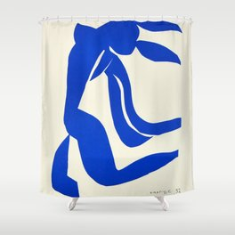 Blue Nude Dancing - Henri Matisse Shower Curtain