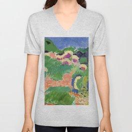Henri Matisse Landscape Unisex V-Neck