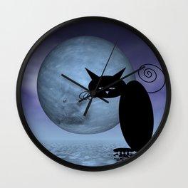 mooncats -5- unreachable Wall Clock