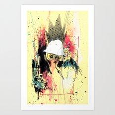 Pure Gonzo Art Print