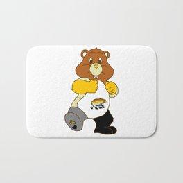 Big Sexy Bear Bath Mat