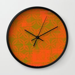 gold space? Wall Clock