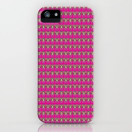 Sugar Skull Cat iPhone Case