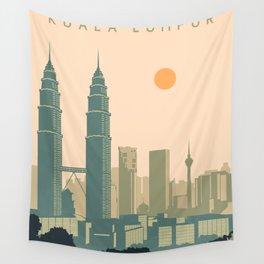 Kuala Lumpur Wall Tapestry