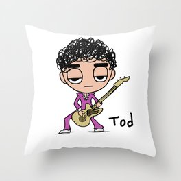 Rock Tod Throw Pillow