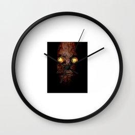 Copperhead mask_094 Wall Clock