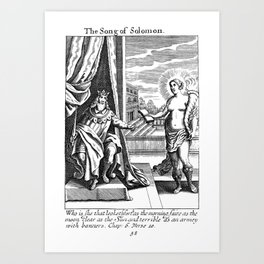 The Song of Solomon Art Print