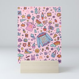 All the Fun Things Mini Art Print
