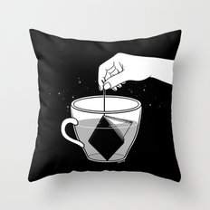 A Cup of Book Throw Pillow