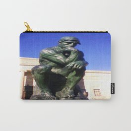 """Auguste Rodin's ....""""The Thinker"""" Carry-All Pouch"""