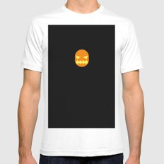 Famous Capsules - Halloween Mens Fitted Tee MEDIUM White