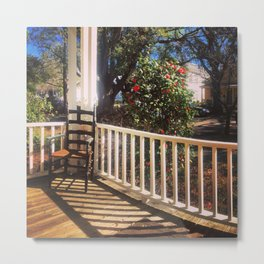 On Sunday, in the South Metal Print