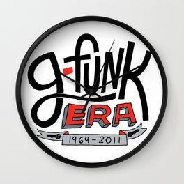 G-Funk Era Wall Clock