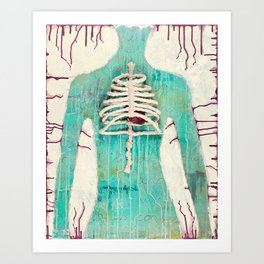 Exposed Art Print