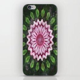 Rosas Moradas 2 Kaleidoscope 16 iPhone Skin