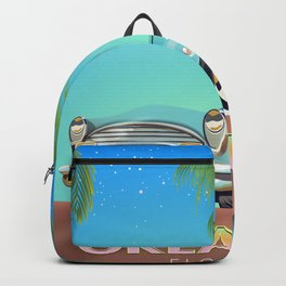 Orlando Florida vintage travel poster, Backpack