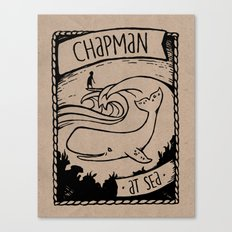 Chapman at Sea Canvas Print