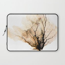 """Sea Fan Black"" Laptop Sleeve"