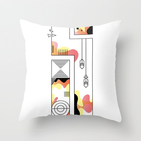 s typo Throw Pillow