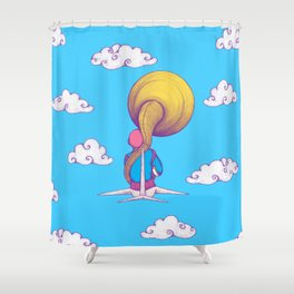 The Extraterrestrial Triumph Shower Curtain