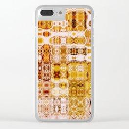 Boho Amber Gypsy Mosaic | Retro | Nadia Bonello | Canada Clear iPhone Case