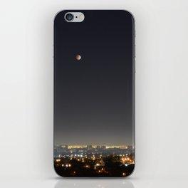 City Blood Moon. iPhone Skin