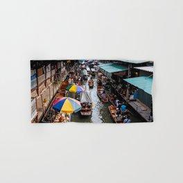 Bangkok Canal Hand & Bath Towel