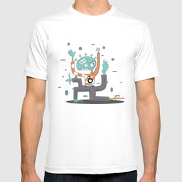 Crazy Alien T-shirt