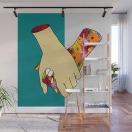 [un]hold Wall Mural