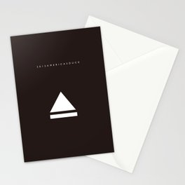 2013America's cup Stationery Cards