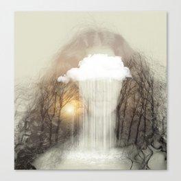 Raining Tears Canvas Print