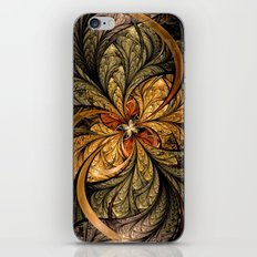 Shining Leaves Fractal Art iPhone & iPod Skin