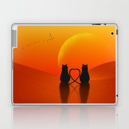 Cats in Love Laptop & iPad Skin