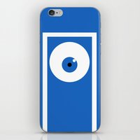 monsters inc iPhone & iPod Skins featuring Monsters inc (no title) by Citron Vert