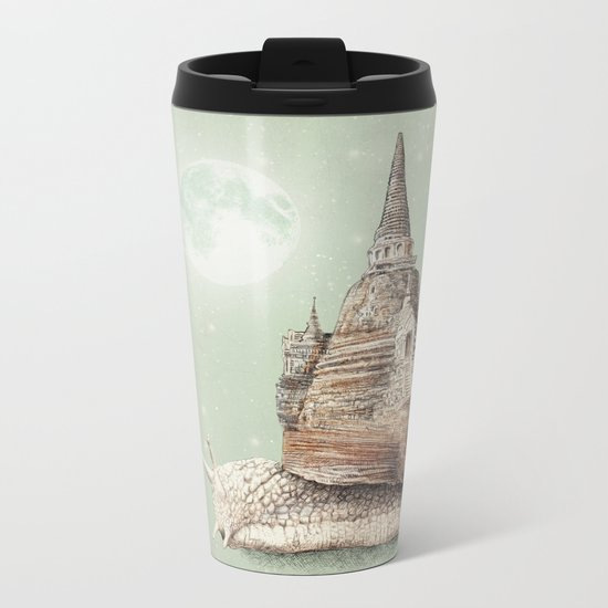 The Snail's Dream Metal Travel Mug