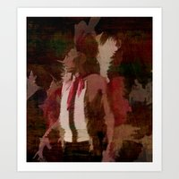 native Art Prints featuring Native by Christy Leigh