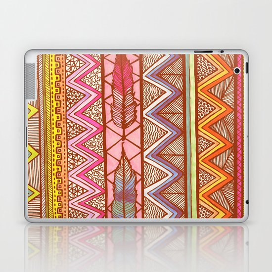 Two Feathers... Laptop & iPad Skin