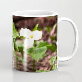 Understory Ephemerals - Red Trillium and White Trillium Coffee Mug