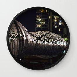 Webb Bridge Docklands Wall Clock